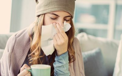 Aumento de caries con el resfriado